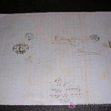 Sellos: CARTA, BARCELONA -LERIDA, 1867. Lote 5513140