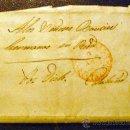 Sellos: ESPAÑA (1854) CARTA DE BARCELONA RODA. RARA. . Lote 26475565