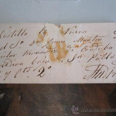 Sellos: MARCA PREFILATÉLICA EN CARTA, 1834, MADRID, CASTILLA LA VIEJA. Lote 21925756