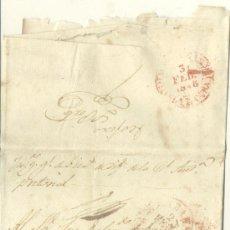 Sellos: 1848 CUBA ISABEL II CARTA CIRCULADA DE LA HABANA A MATANZAS. FRANCO. R (3). Lote 26770757