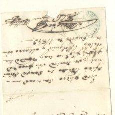 Sellos: 1849 CUBA ISABEL II PLICA DE HOLGUIN A TUNAS RRR (15). Lote 26771134