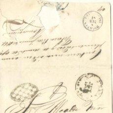Sellos: 1861 CUBA ISABEL II PLICA DE JIBARA A HOLGUIN. ¡ESPECTACULAR! RRR (17). Lote 26771246