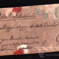 Sellos: PLICA DE SANTIAGO DE CUBA. SELLO FRANCO. Lote 30702508