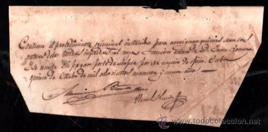 Sellos: PLICA DE SANTIAGO DE CUBA, 1849 - Foto 2 - 30702635