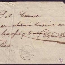 Sellos: ESPAÑA. 1862. PLICA DE LALIN (PONTEVEDRA). SIN MARCA DE FRANQUICIA NI TASA. MUY RARA.. Lote 26837497