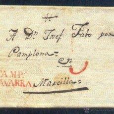 Sellos: 1827.-+ BURGUI A MARCILLA. Lote 41384153