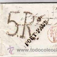 Sellos: PREFILATELIA DE PARIS A MADRID.. Lote 44340558