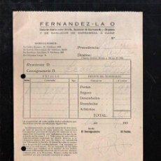 Sellos: COSARIO. FERNANDEZ - LA O. SEVILLA. 1955.. Lote 45368524
