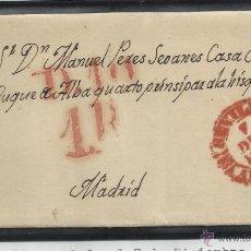 Timbres: CIRCULADA Y ESCRITA 1846 DE SEVILLA A MADRID. Lote 45589888