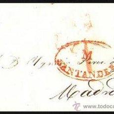 Sellos: CARTA 1841 SANTANDER-MADRID. Lote 29885656