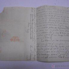 Sellos: PREFILATELIA. CARTA ENVUELTA DE VALLADOLID A ARANDA.1835?. Lote 50205661