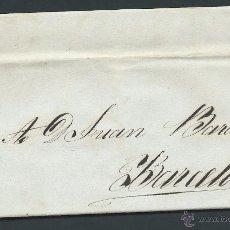 Selos: CARTA PREFILATELIA SIN PORTEO AÑO 1840 DE CUBA A BARCELONA DE JOSE GRANADA A JUAN BARADAT. Lote 50875967