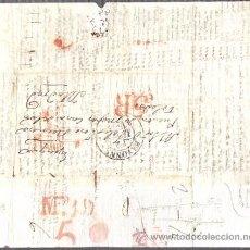Sellos: SOBRE PREFILATELIA DE BAYONA A MADRID. AÑO 1838. Lote 51125863