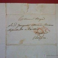 Timbres: CARTA COMPLETA DE SALAMANCA A ZAFRA. DIRIGIDA A DIPUTADO A CORTES. 24 OCTUBRE 1841. Lote 52810916