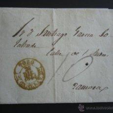 Sellos: PREFILATELIA. ENVUELTA. ZAMORA - BAEZA DE TORO, 1844. PORTEO MANUSCRITO. Lote 52931790