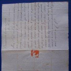 Sellos: 1839 BARCELONA A PALMA DE MALLORCA * LA GUERRA DE PARTIDOS ES COMO SIEMPRE, ASCO ME DA. Lote 53475370