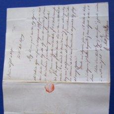 Sellos: 1840 BARCELONA A PALMA DE MALLORCA * EL DESGRACIADO CALAF .... Lote 53475413