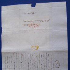 Sellos: 1840 BARCELONA A PALMA DE MALLORCA * EXCESOS EN TARRAGONA..POLITICA. Lote 53475452