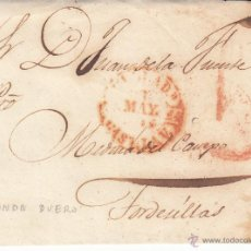 Sellos: PREFILATELIA- FRONTAL DE ARANDA DE DUERO A TORDESILLAS . Lote 53808654