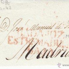 Sellos: PREFILATELIA - FRONTAL DE BADAJOZ A MADRID. Lote 53842520