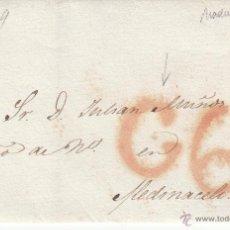 Sellos: PREFILATELIA - ENVUELTA DE MADRID A MEDINACELI ---1839----. Lote 53843468