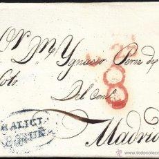 Sellos: 1833 CORUÑA A MADRID GALICIA. Lote 54891529
