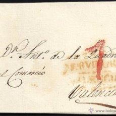 Sellos: 1831 MURVIEDRO A VALENCIA. Lote 54891898