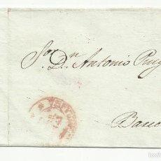 Sellos: ENVUELTA CIRCULADA 1843 A BARCELONA CON FECHADOR BAEZA LLEGADA. Lote 55569377