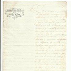 Sellos: COMISION ESTADISTICA PROVINCIA OVIEDO 1850 AL AYUNTAMIENTO DE TINEO. Lote 55692209