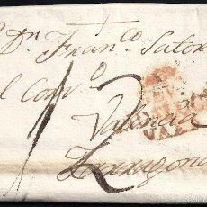 Sellos: 1806 SEVILLA A TARRAGONA ANDALUCÍA BAJA. Lote 55701036