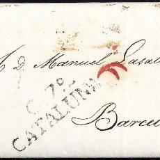Sellos: 1829 CALAF A BARCELONA. Lote 55819098