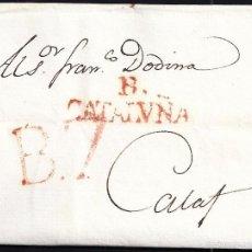 Sellos: 1827 BARCELONA A CALAF. Lote 55820264