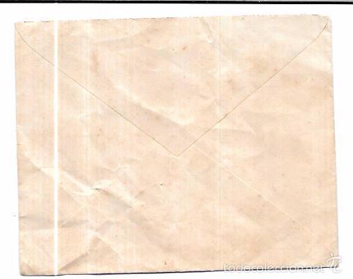 Sellos: SOBRE COSARIO. ANTONIO SIRVIENTE. SAN FERNANDO. CADIZ. - Foto 2 - 56381108