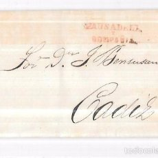 Sellos: COSARIO. 1856. PAUSADELA Y COMPAÑIA. . Lote 57100994
