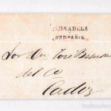 Sellos: COSARIO. 1857. PAUSADELA Y COMPAÑIA. . Lote 57101013