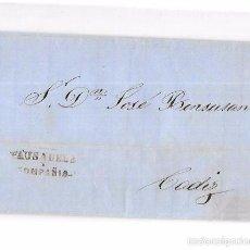 Sellos: COSARIO. 1857. PAUSADELA Y COMPAÑIA. . Lote 57101055