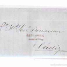 Sellos: COSARIO. 1856. PAUSADELA Y COMPAÑIA. . Lote 57101132