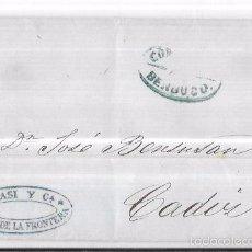 Sellos: COSARIO. 1854. BERDUGO Y COMPAÑIA.. Lote 57101158