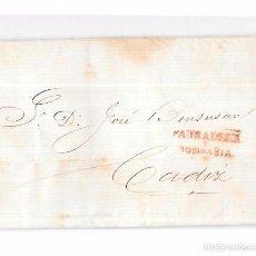Sellos: COSARIO. 1856. PAUSADELA Y COMPAÑIA. . Lote 57101179