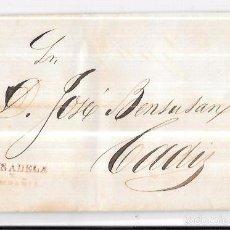 Sellos: COSARIO. 1857. PAUSADELA Y COMPAÑIA. . Lote 57101195