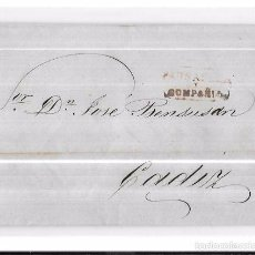 Sellos: COSARIO. 1856. PAUSADELA Y COMPAÑIA. . Lote 57101231