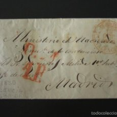 Sellos: PREFILATELIA AÑO 1850. DE ALBAIDA (VALENCIA) A MADRID. CARTA PREFILATÉLICA. . Lote 57155173