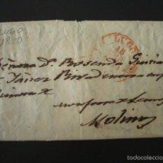 Sellos: PREFILATELIA AÑO 1850. LUGO. CARTA PREFILATÉLICA. . Lote 57157816