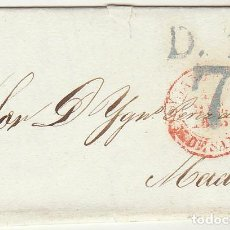 Sellos: SANTANDER A MADRID. 1843. Lote 64003287