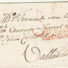 Sellos: CARTA : SALAMANCA A VALLADOLID 1818. Lote 64451055