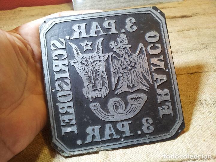 Sellos: RARA PLANCHA IMPRENTA DEL SELLO DE 3. PAR DE ROMANIA MOLDAVIA 1862, MANOFACTURA SIGLO XIX - Foto 5 - 64497111