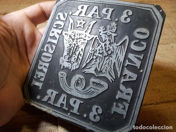 Sellos: RARA PLANCHA IMPRENTA DEL SELLO DE 3. PAR DE ROMANIA MOLDAVIA 1862, MANOFACTURA SIGLO XIX - Foto 11 - 64497111
