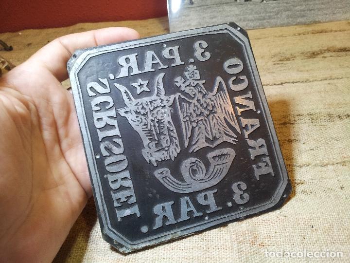 Sellos: RARA PLANCHA IMPRENTA DEL SELLO DE 3. PAR DE ROMANIA MOLDAVIA 1862, MANOFACTURA SIGLO XIX - Foto 14 - 64497111