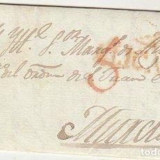 Sellos: ALICANTE A MURCIA. 1823.. Lote 67236553