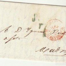 Sellos: SANTANDER A MADRID. 1843. Lote 69207769
